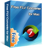 Free FLV Converter for Mac box