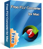 Free FLV to 3GP Converter for Mac  box