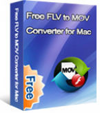 Free FLV to MOV Converter for Mac box