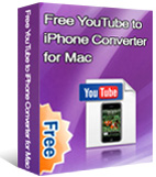 Free YouTube to iPhone Converter for Mac box