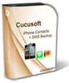 Cucusoft iPhone Contacts + SMS Backup Box