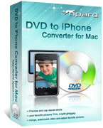 Tipard DVD to iPhone Converter for Mac Box