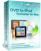 Tipard DVD to iPod Converter for Mac Box