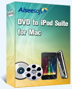 Aiseesoft DVD to iPod Suite for Mac Box