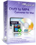 Tipard DVD to MP4 Converter for Mac Box