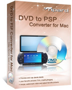 Tipard DVD to PSP Converter for Mac Box