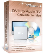 Tipard DVD to Apple TV Converter for Mac Box