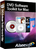 Aiseesoft DVD Software Toolkit for Mac Box