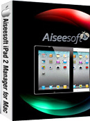 Aiseesoft iPad 2 Manager for Mac Box