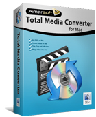 Aimersoft Total Media Converter for Mac Box