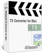 4Videosoft TS Converter for Mac Box