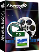 Aiseesoft TS Converter for Mac Box