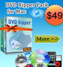 iSkysoft DVD Ripper Pack for Mac
