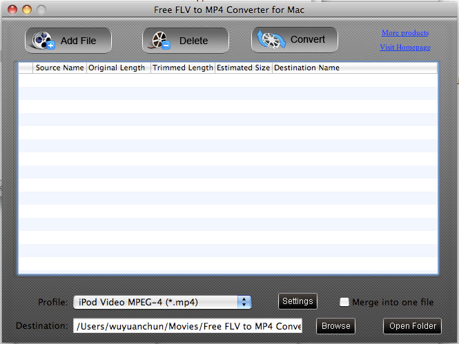 an ideal Mac FLV to MP4 Converter