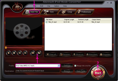Recommend an Ultimedia DVD Converter to help you convert dvd Ipodmovie
