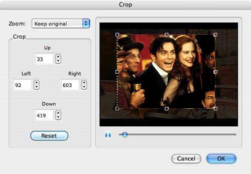 crop dvd